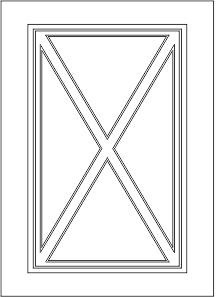 Витрина крест